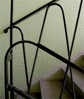 Fastigheten Rovfågeln, Aspudden -  trappräcke